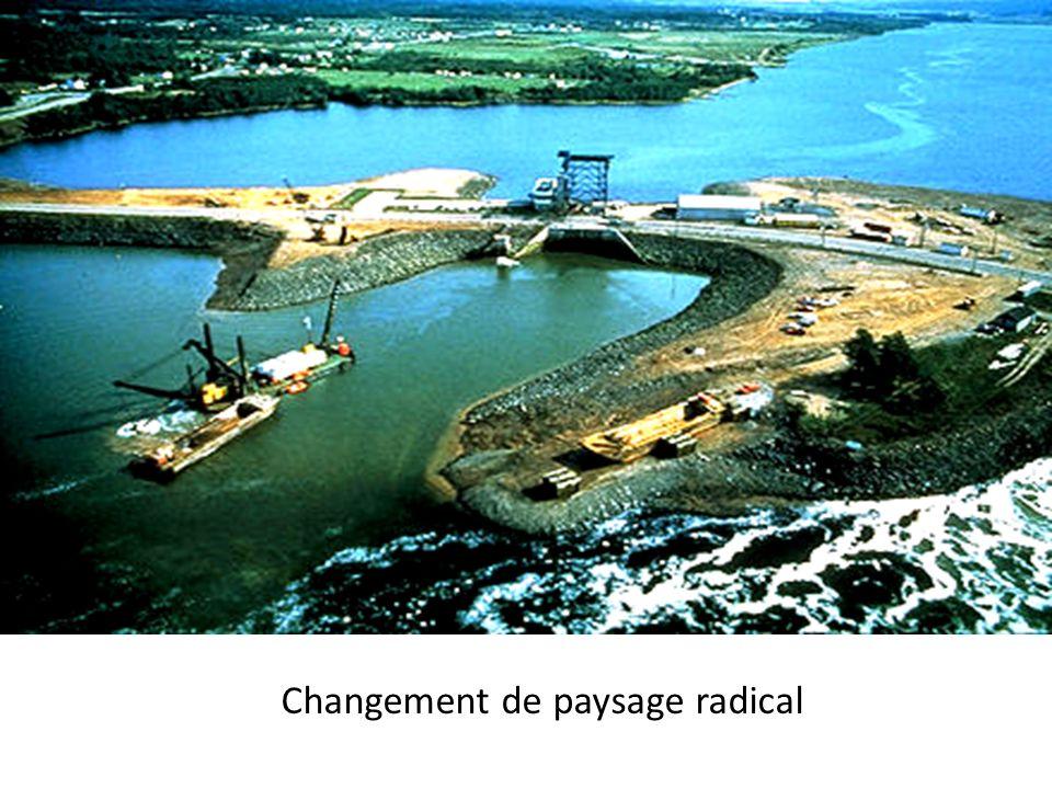 Changement de paysage radical