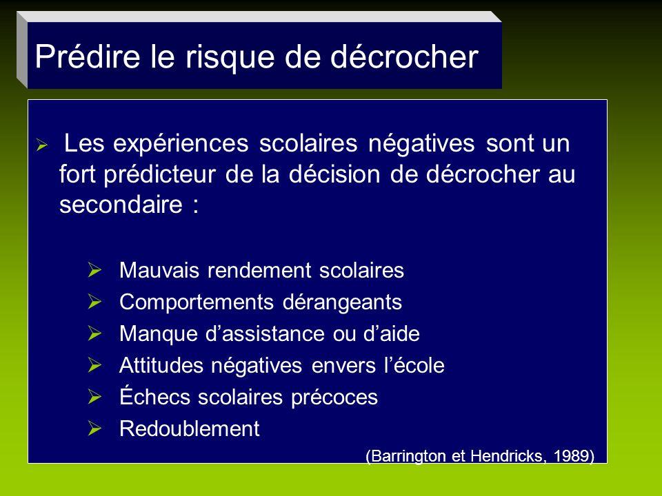 Conclusion 2 e orientation Utiliser les résultats de deux instruments : attitude de lenseignante envers ses élèves, quatre types délèves.