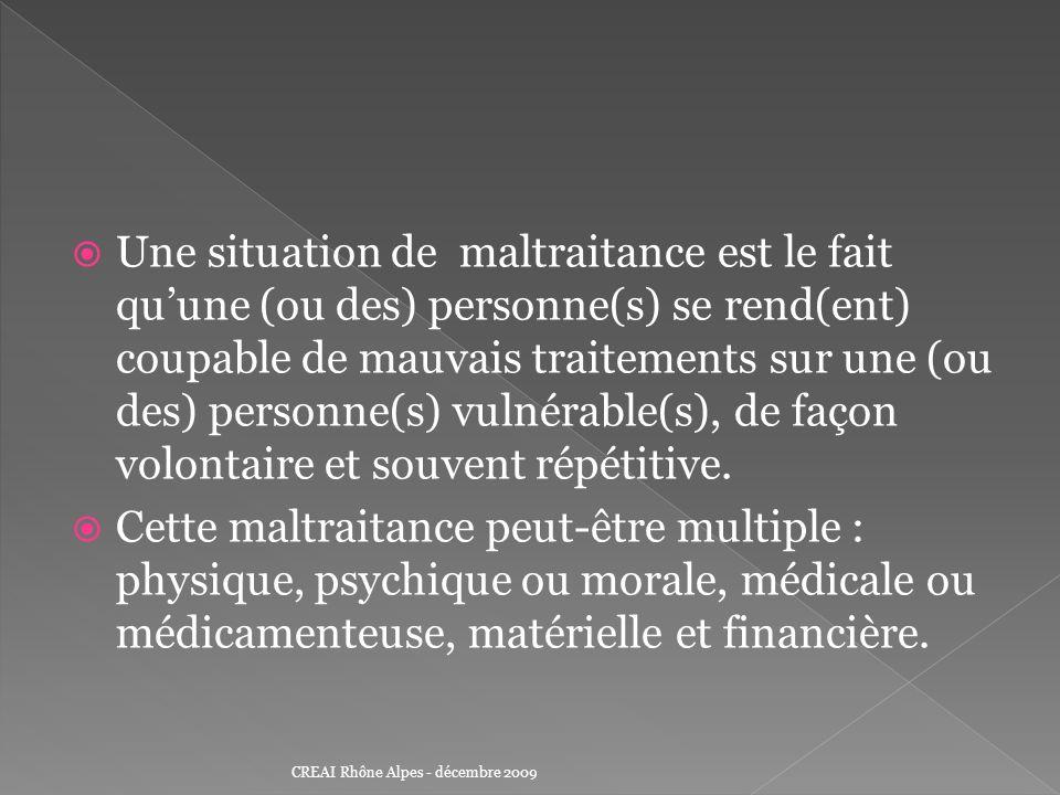 Obligation dinformer le procureur de la République ou le Président du Conseil général des mauvais traitements sur personne vulnérable (Art.