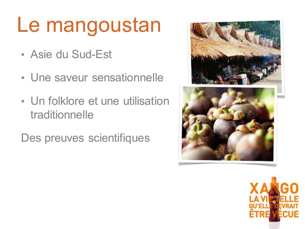 Le mangoustan Asie du Sud-Est Une saveur sensationnelle Un folklore et une utilisation traditionnelle Des preuves scientifiques