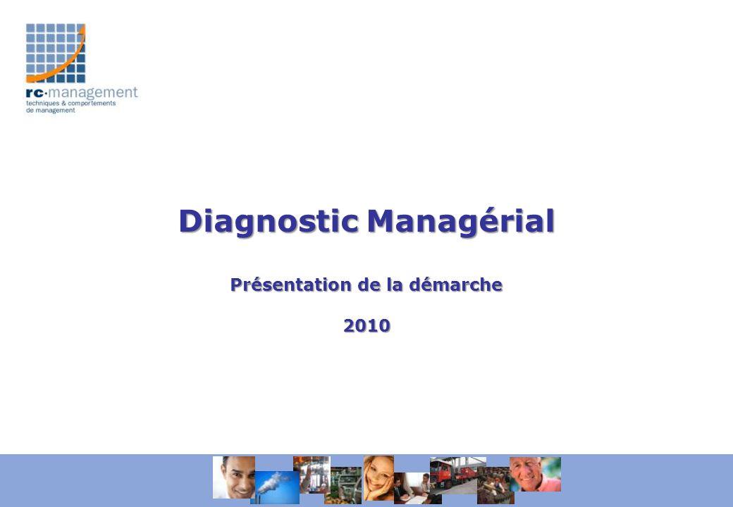 Diagnostic Managérial Présentation de la démarche 2010