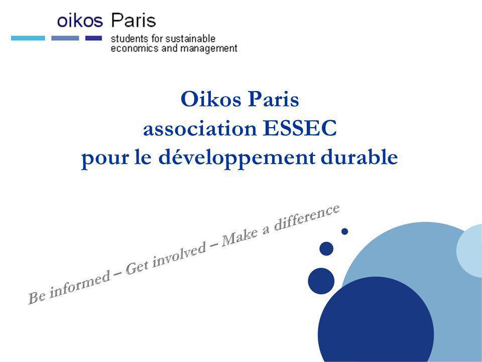 Company LOGO Oikos Paris, en bref...