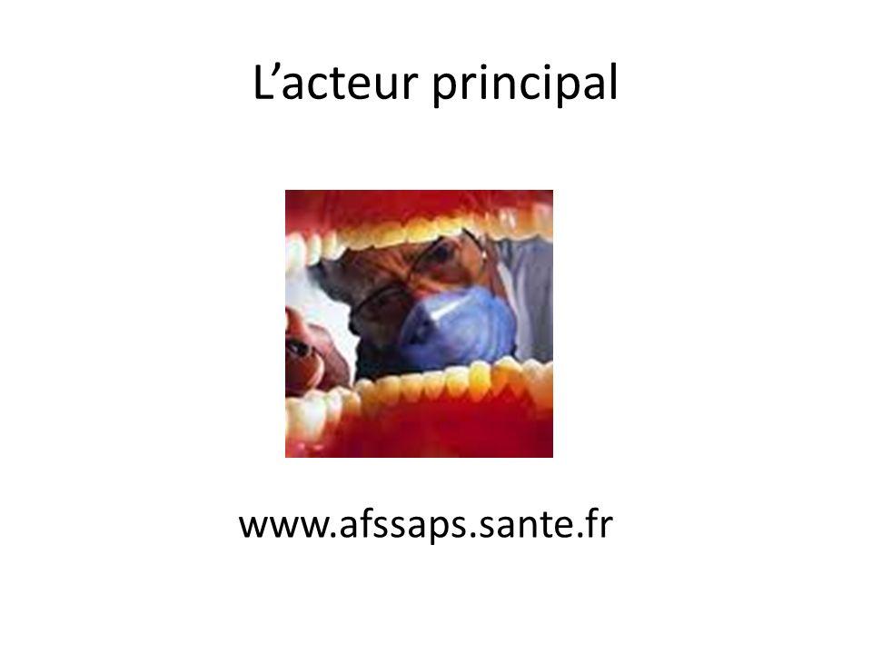 Lacteur principal www.afssaps.sante.fr