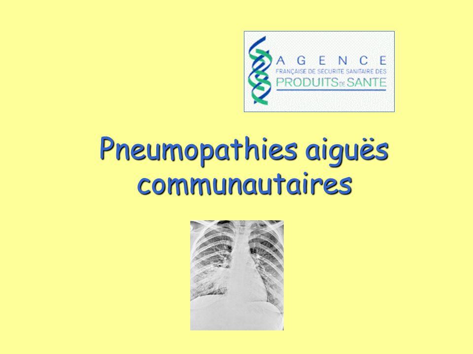 Stratégie de décision d hospitalisation d un patient avec Pneumonie communautaire Y a-t-il un des signes de gravité suivant devant conduire à une hospitalisation d emblée .