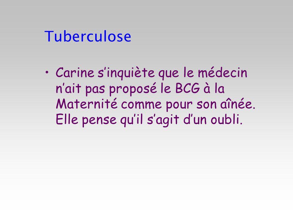 A propos du BCG en 2010 1.Il est possible de refuser laccès en crèche à un enfant non vacciné .
