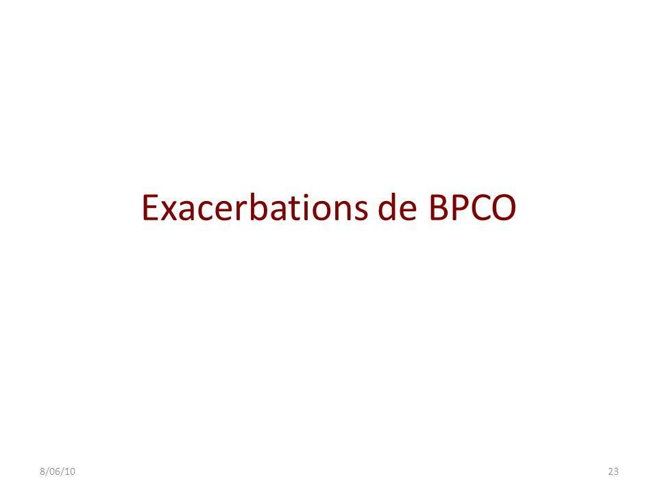 Exacerbations de BPCO 238/06/10