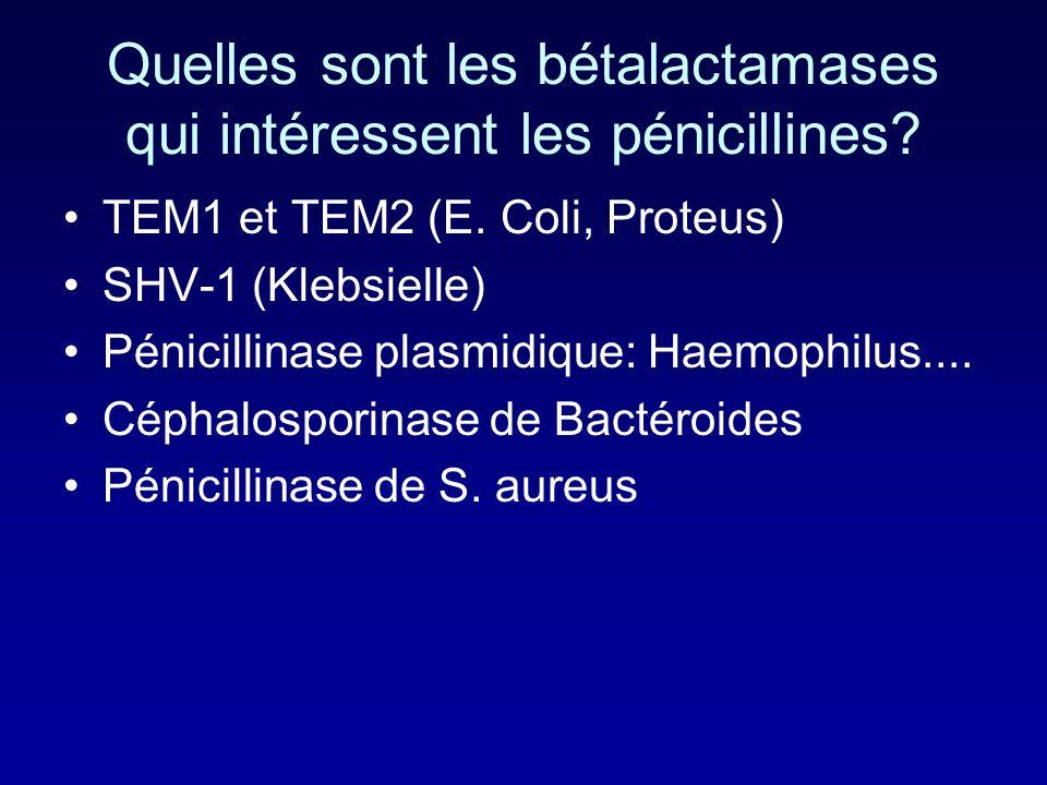 Mécanisme de linhibition les IB sont des antibiotiques de type bétalactamine Ils sont spécifiques des bétalactamases qui sont elles même des PLPs déri