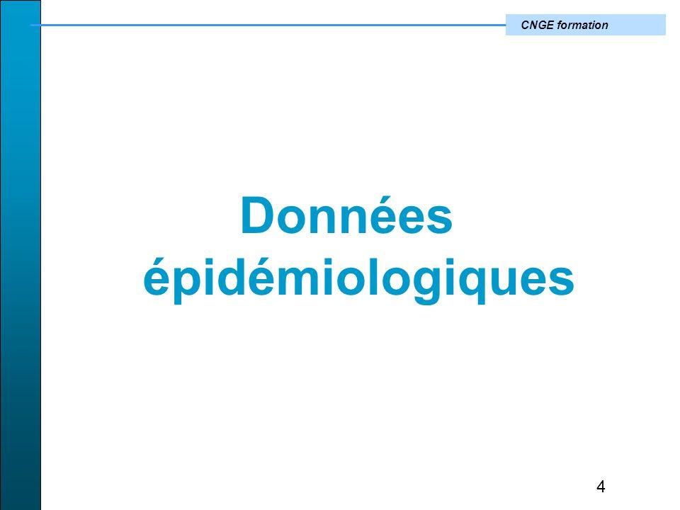 CNGE formation Données épidémiologiques 4