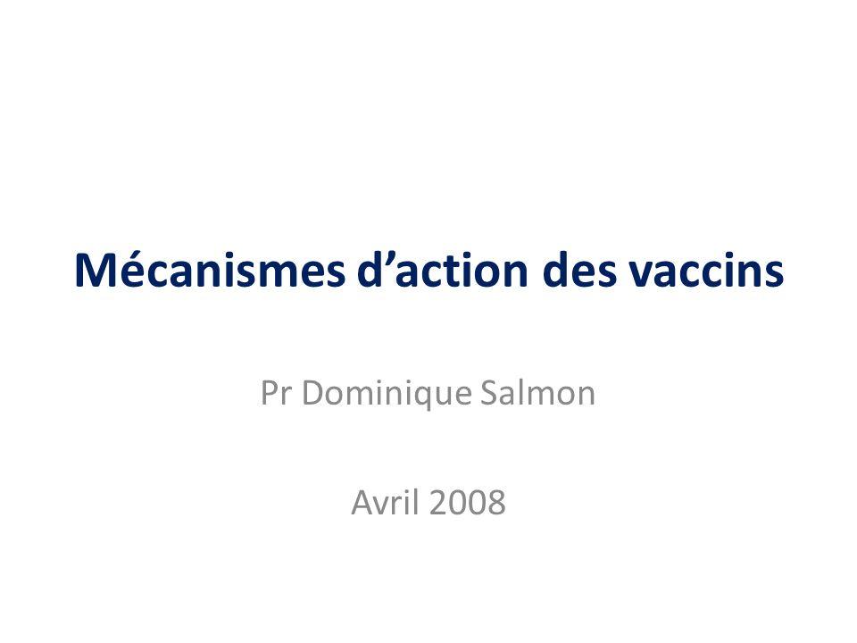 Points abordés Historique Mécanismes immunologiques Mémoire immunitaire, durée de la protection Rôle des adjuvants Immunité collective