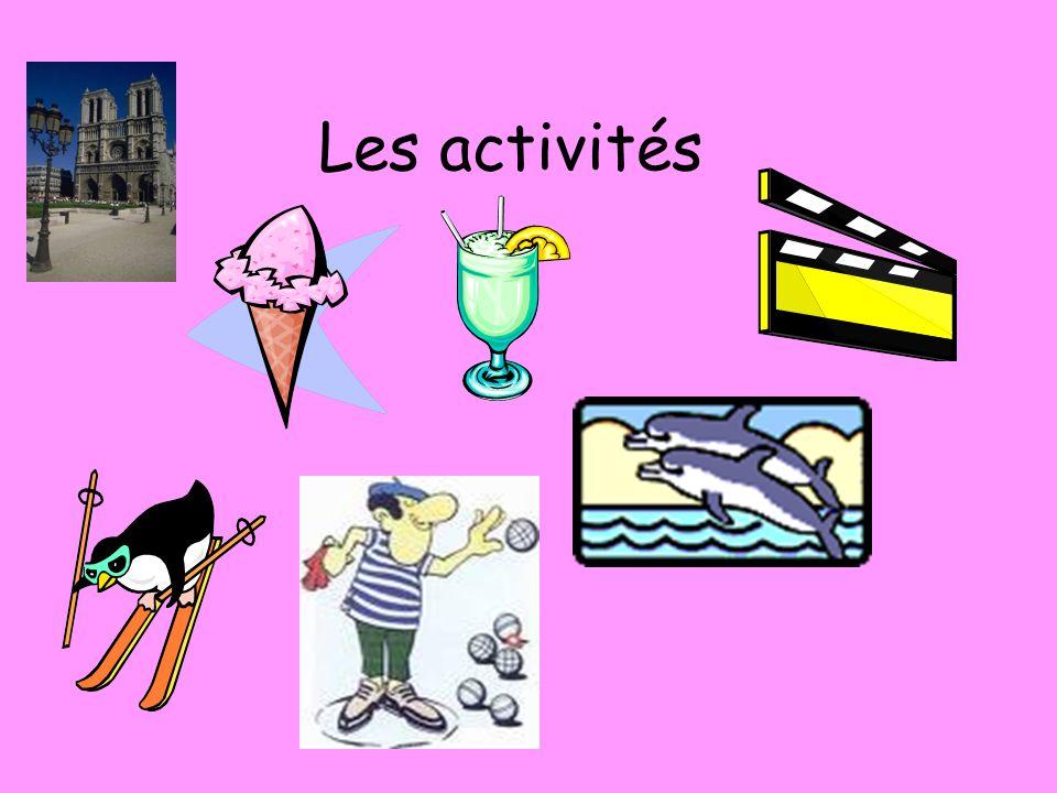 Les activités