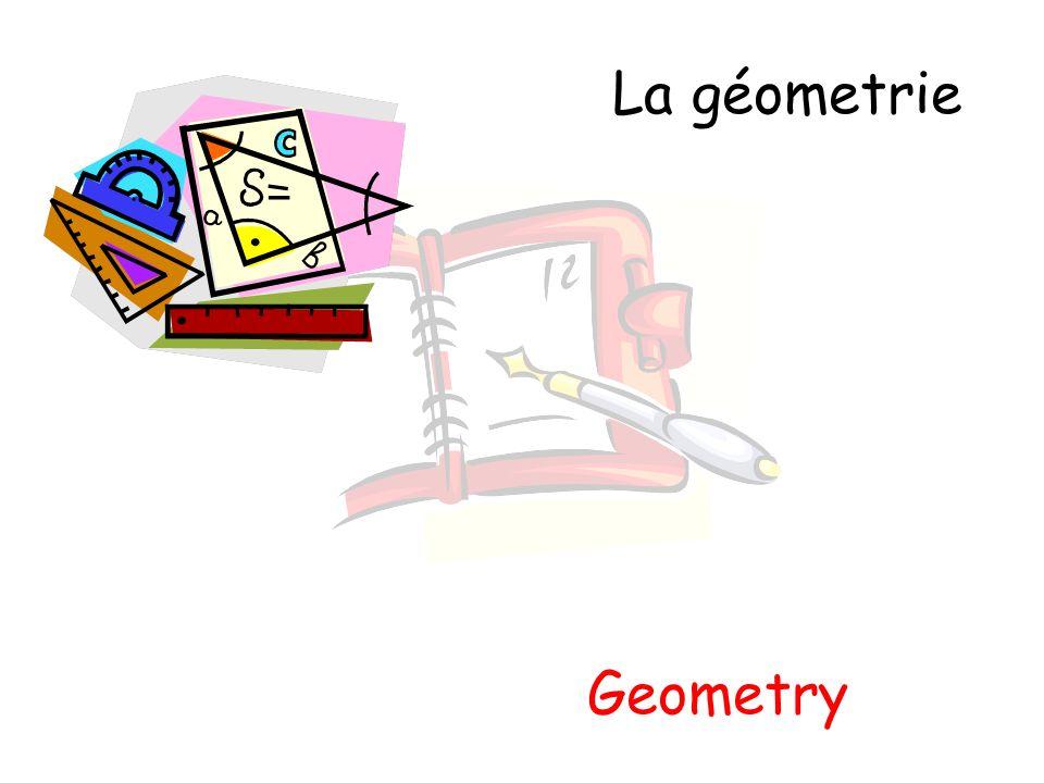 La géometrie Geometry