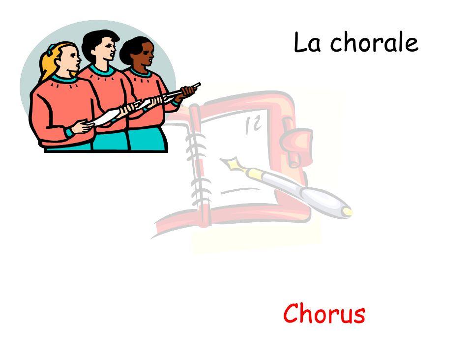 La chorale Chorus