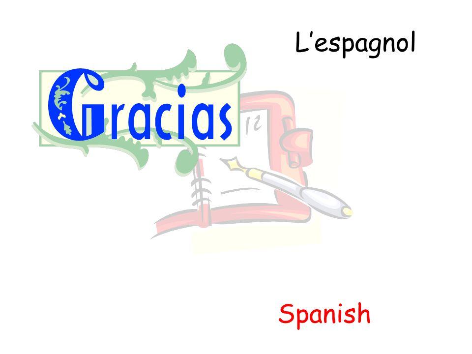 Lespagnol Spanish