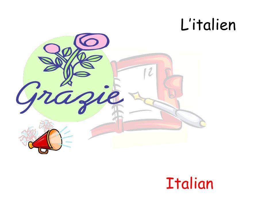 Litalien Italian