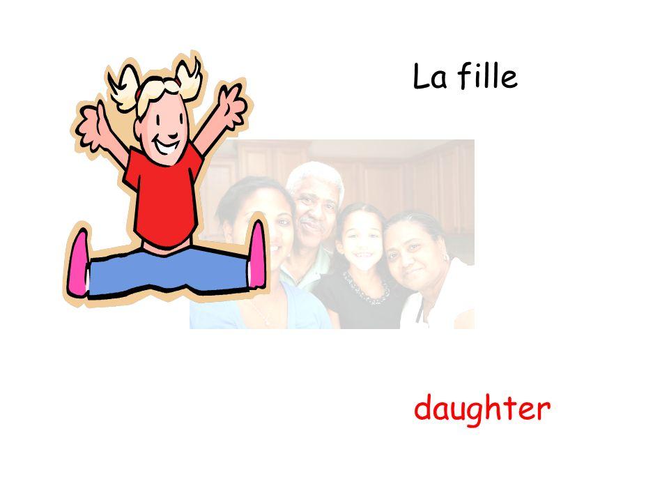 La fille daughter