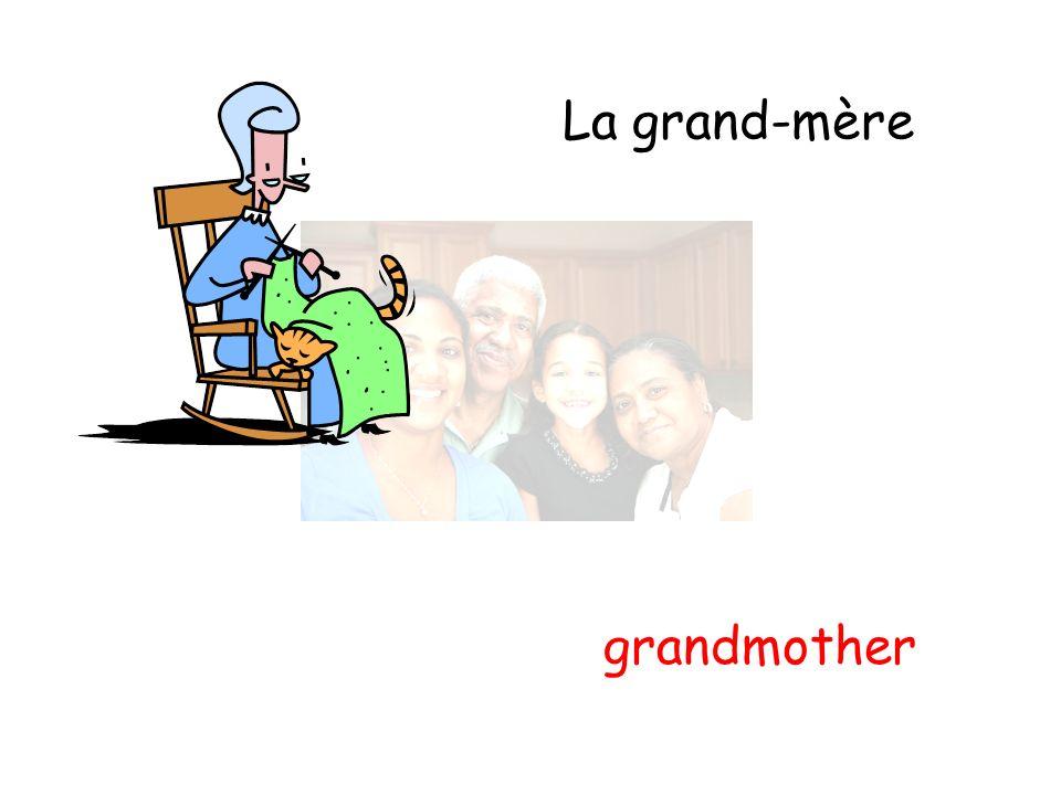 La grand-mère grandmother