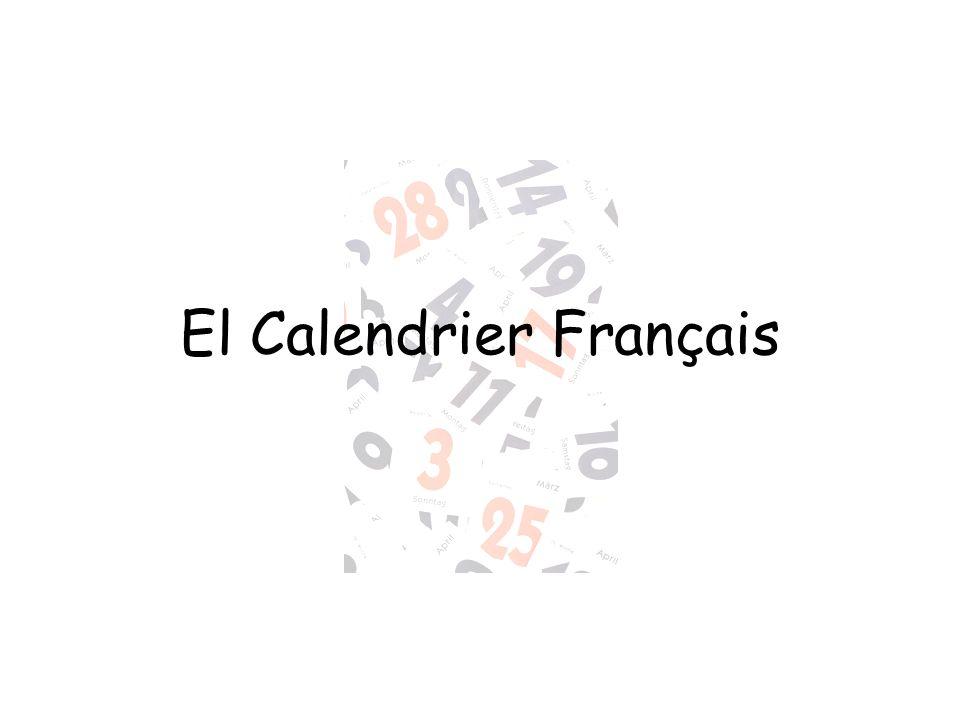 El Calendrier Français
