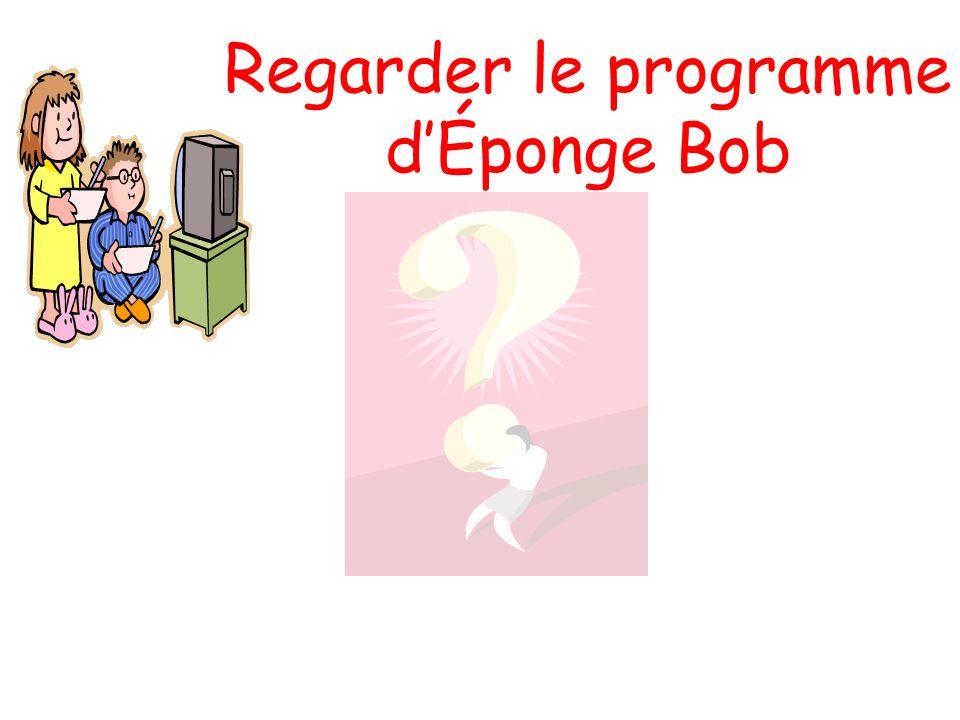 Regarder le programme dÉponge Bob