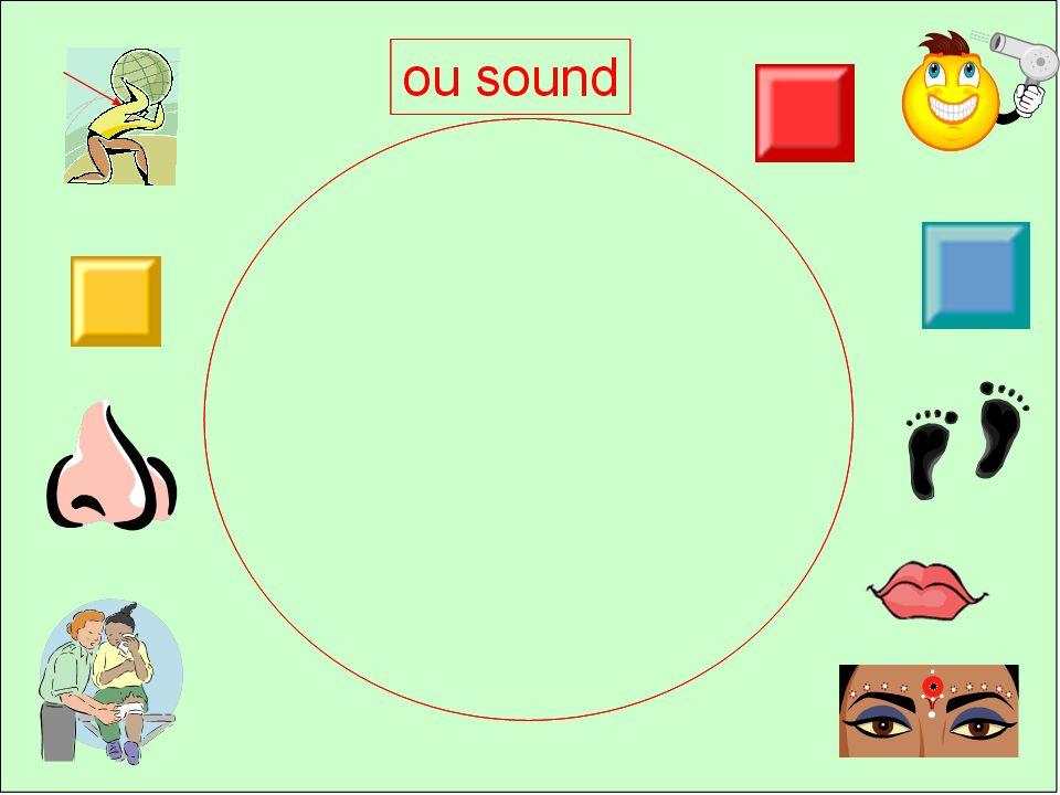 orange vert jaune rouge bleu 1 2345 Click the square to find 2 yeux, 2 oreilles, 1 nez & 1 bouche
