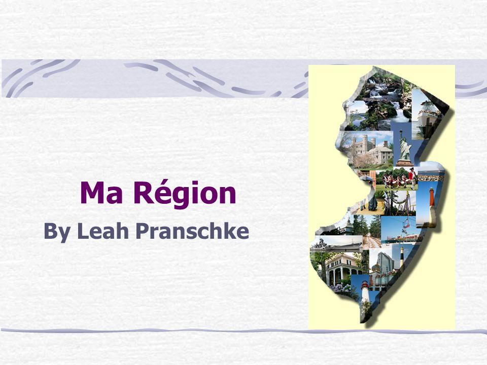 Ma Région By Leah Pranschke