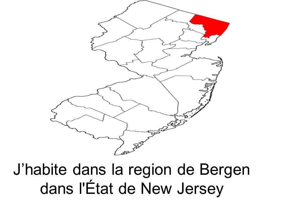Jhabite dans la region de Bergen dans l'État de New Jersey