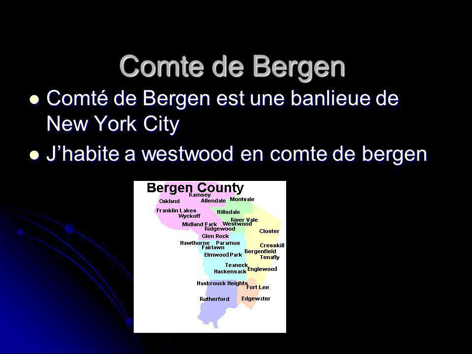 Comte de Bergen Comté de Bergen est une banlieue de New York City Comté de Bergen est une banlieue de New York City Jhabite a westwood en comte de bergen Jhabite a westwood en comte de bergen
