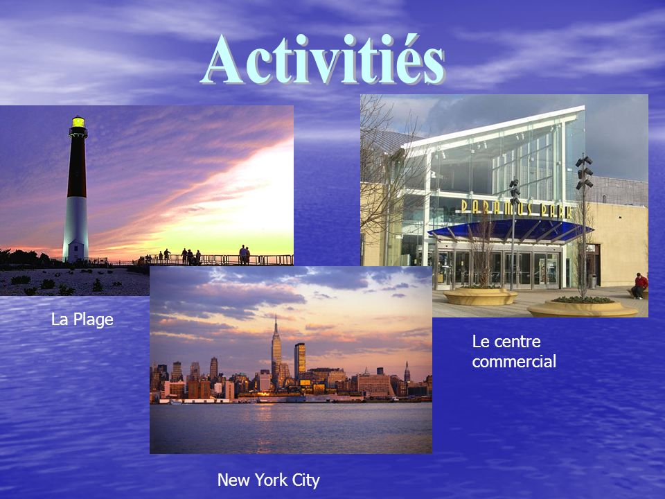 La Plage Le centre commercial New York City