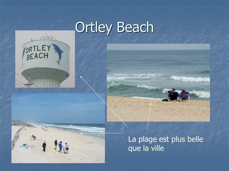 Ortley Beach La plage est plus belle que la ville