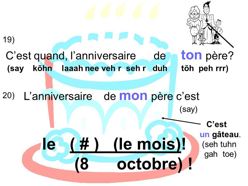 5) Jérôme et Luc parlent avant la classe.Mettez en ordre leur conversation.