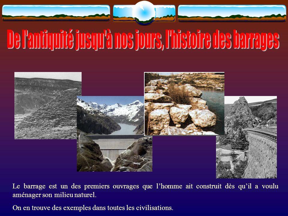 Le barrage de Saad El Kafara mesurait 12 mètres de haut et 108 mètres de long.