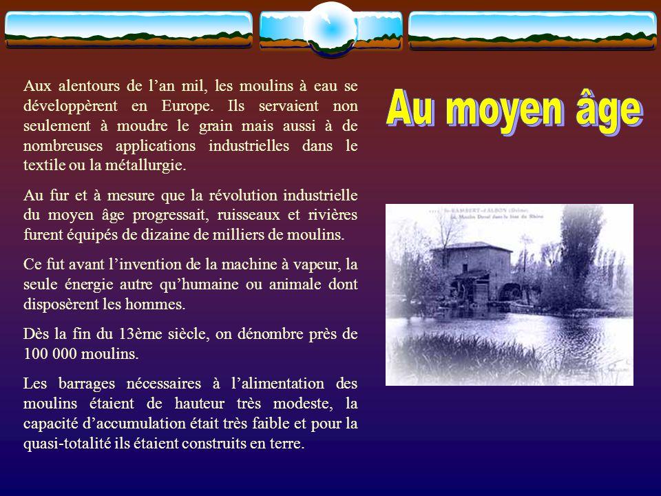 Les besoins énergétiques de la sidérurgie au bois furent à lorigine de la réalisation de très nombreux lacs de forge.