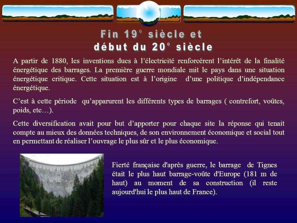 Le barrage de la Grande-Dixence est un barrage poids situé en Suisse.barrage Il mesure 285 mètres de haut.