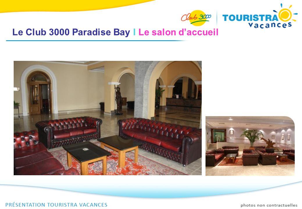 Le Club 3000 Paradise Bay I La chambre Chambres vastes et confortables de 2 à 3 personnes (possibilité de chambres quadruples), situées sur 4 étages avec ascenseurs.