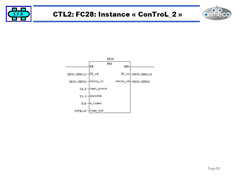 Page 89 CTL2: FC28: Instance « ConTroL_2 »