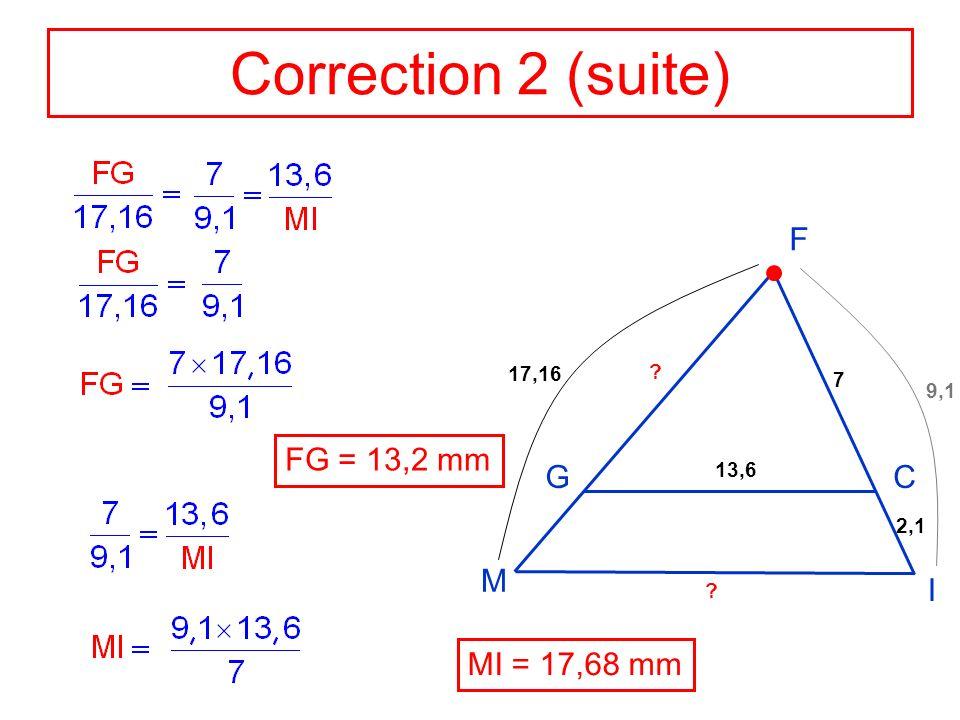 Application 3 Données : AGFE est un parallélogramme.