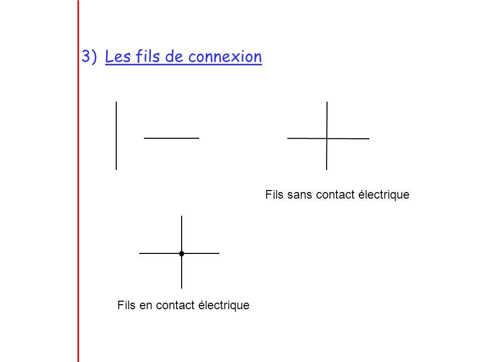4)Linterrupteur Interrupteur ouvert : le courant ne passe pas Interrupteur fermé : le courant passe