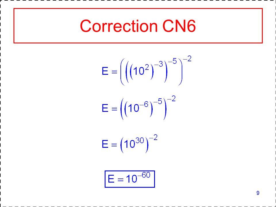 10 CALCUL NUMERIQUE 3 Donner lécriture scientifique de chaque nombre : A = 971 000 000 000 B = 12 300 000 C = 0,00035 D = 0,08 10 5 E = 32 500 10 2 F = 0,040 10 5 G = 0,0075 10 -3 A = 9,71 10 11 B = 1,23 10 7 C = 3,5 10 -4 D = 8 10 3 E = 3,25 10 6 F = 4 10 3 G = 7,5 10 -6
