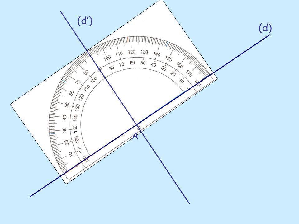 A Elles forment un angle de 90°