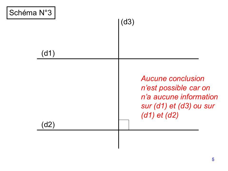 4 (d1) (d2) (d3) // Schéma N°2 //
