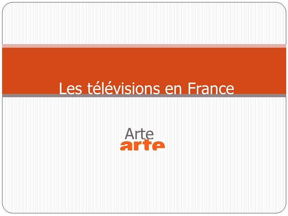 Arte Les télévisions en France