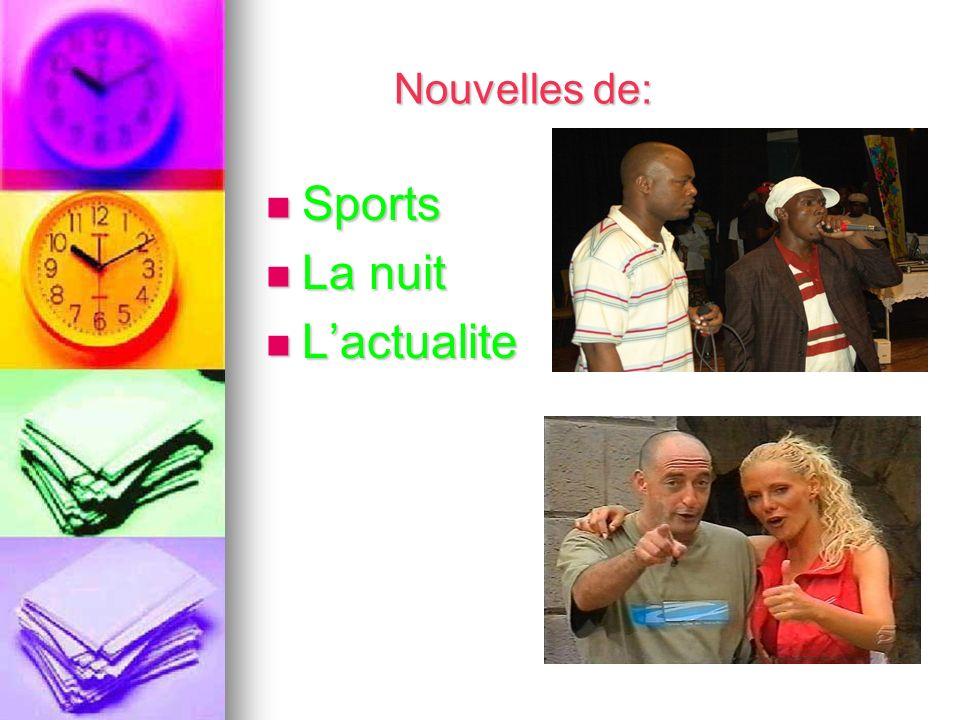 Nouvelles de: Sports Sports La nuit La nuit Lactualite Lactualite