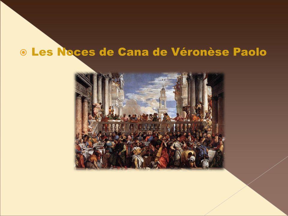 Les Noces de Cana de Véronèse Paolo