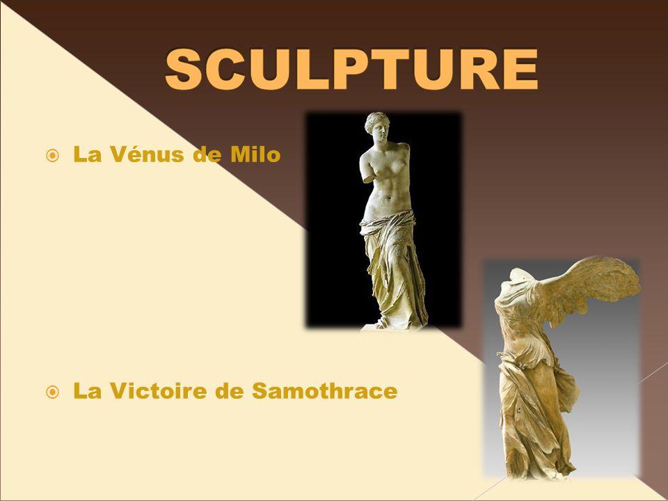 La Vénus de Milo La Victoire de Samothrace