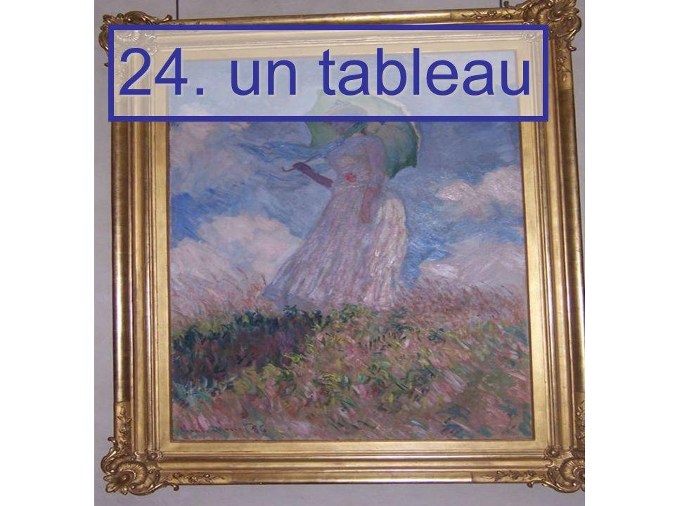 24. un tableau