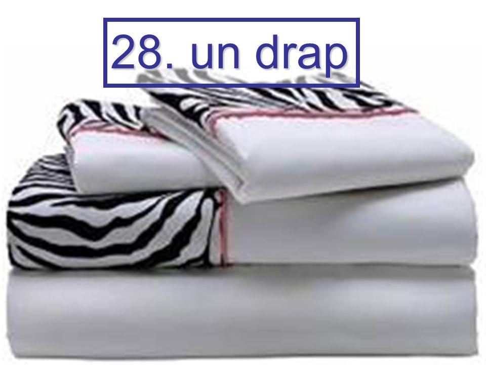 28. un drap