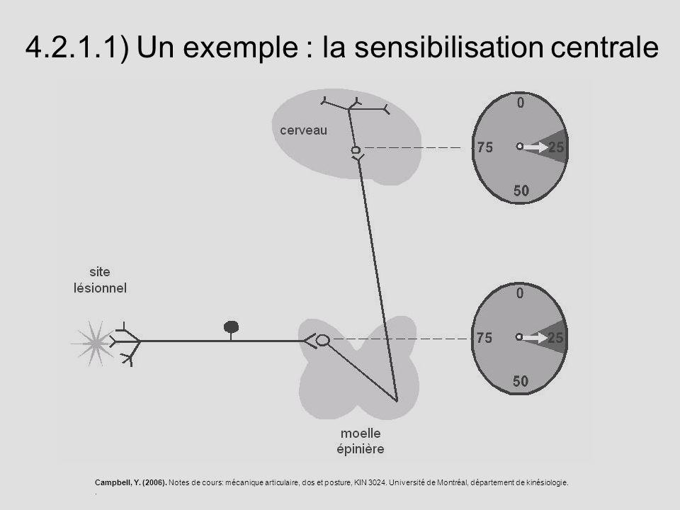 Campbell, Y. (2006). Notes de cours: mécanique articulaire, dos et posture, KIN 3024. Université de Montréal, département de kinésiologie.. 4.2.1.1) U