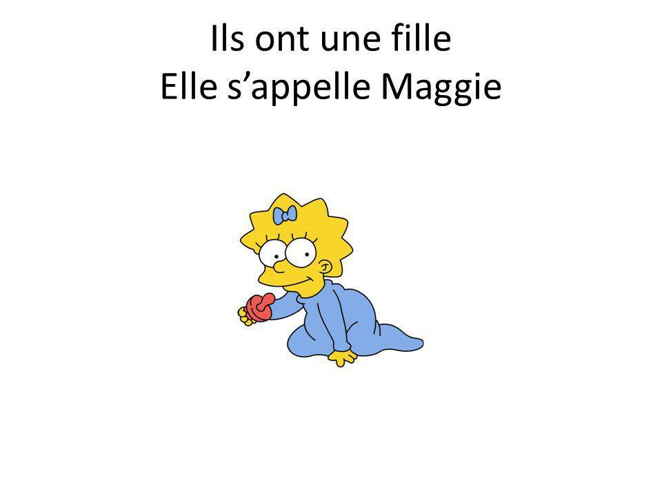Ils ont une fille Elle sappelle Maggie