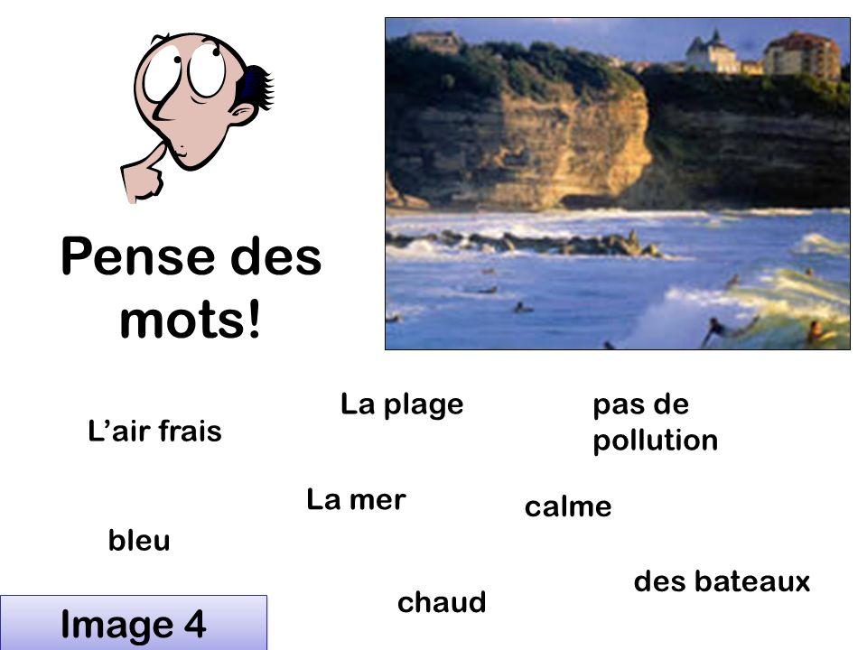 Pense des mots! Lair frais calme des moutons La rivière pas de pollution vert Image 3 du vent