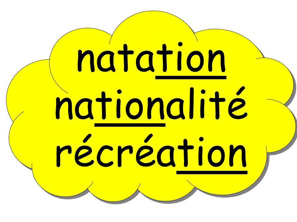 natation nationalité récréation