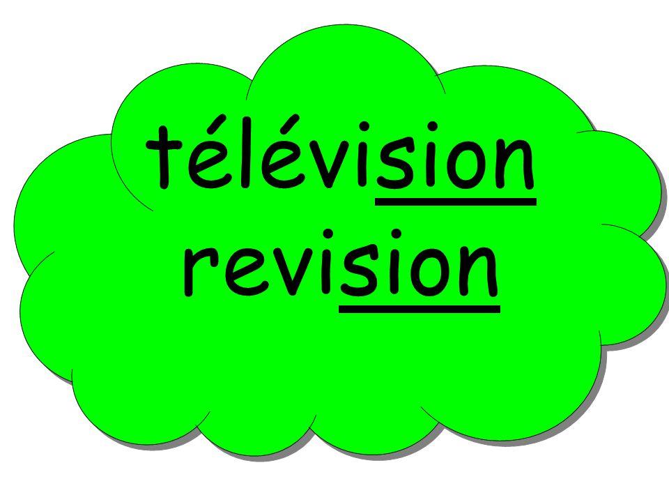 télévision revision